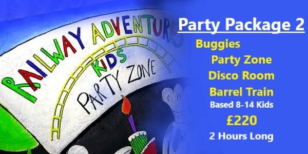 Railway Adventure - Birthday Party 1